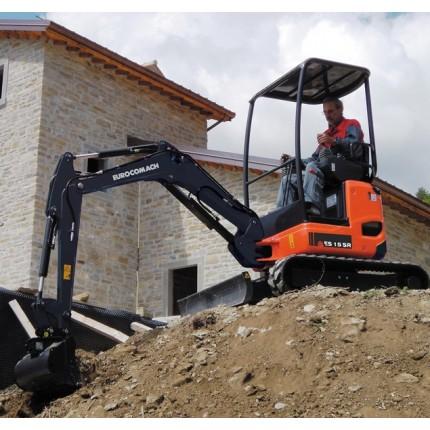 Mini excavator pe senile ES 15 SR